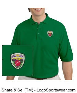 NVCC Polo Green Design Zoom